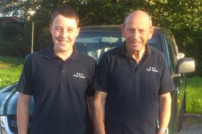 aaron and john of b and h pest control Preston